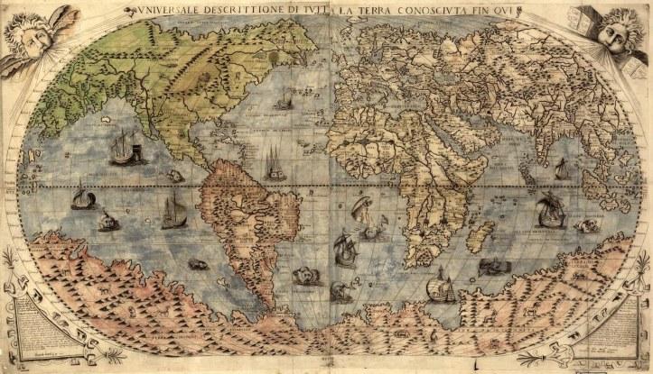 1565 Forlani - Universale Descrittione Di Tutta la Terra Consciuta Fin Oui 2