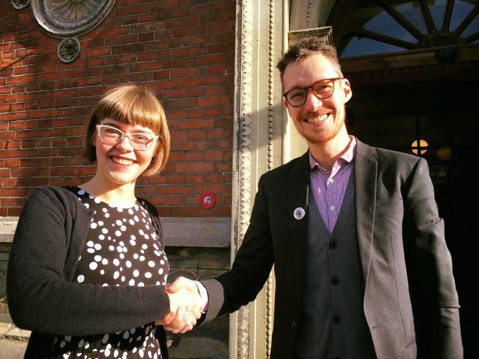 And The Winner is.. How libraries can support students working for a better life on campus