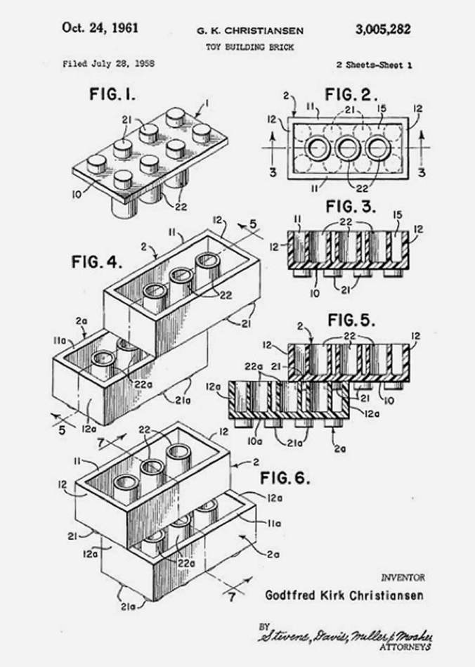 original-patent-for-the-lego-brick-by-Ole-Kirk-Christiansen